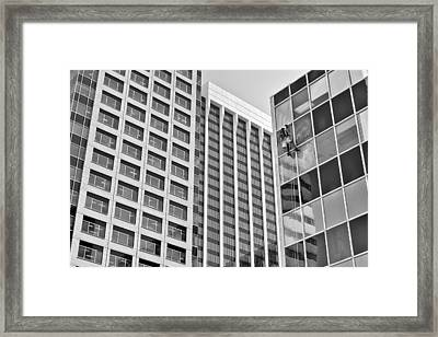 Flying Solo Framed Print