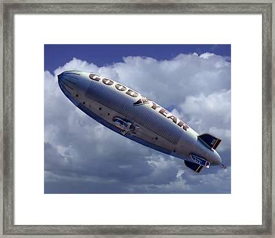 Flying The Flag Framed Print by Ken Evans