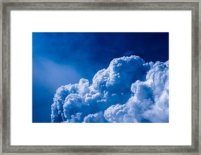 Flying The Stormy Skies - Featured 3 Framed Print by Alexander Senin