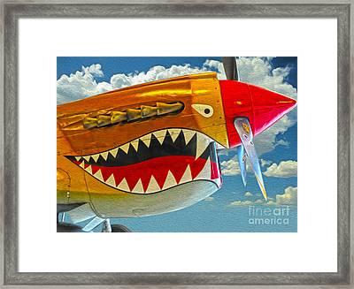 Flying Tiger Framed Print by Gregory Dyer