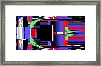 Fm Radio  Framed Print by Cletis Stump