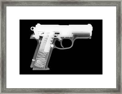 Fn P9 Reverse Framed Print by Ray Gunz