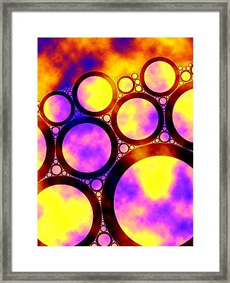Foam Framed Print by Matt Lindley