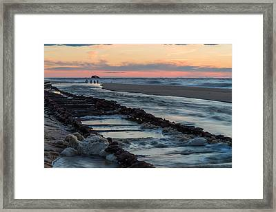 Foam On The Tracks Framed Print by Kristopher Schoenleber