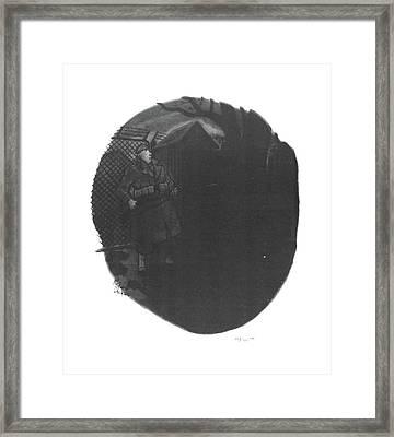 Foe! Framed Print