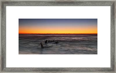 Forever At Sea Framed Print