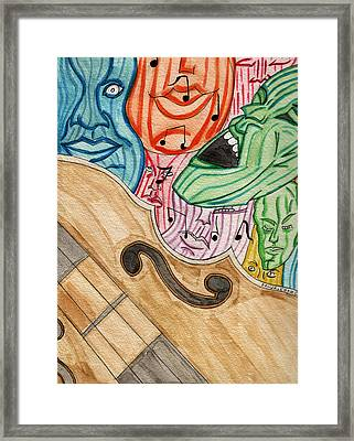 Fofm Framed Print by Artists With Autism Inc