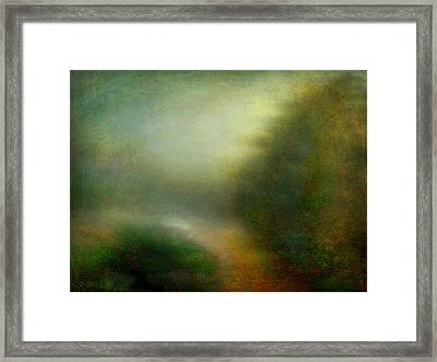 Fog #3 - Silent Words Framed Print by Alfredo Gonzalez