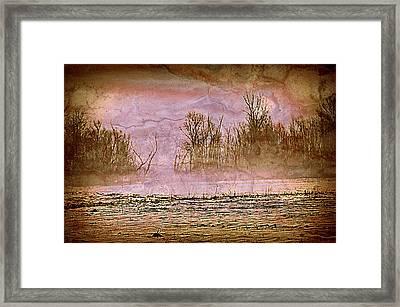 Fog Abstract 3 Framed Print by Marty Koch