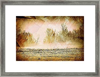 Fog Abstract 5 Framed Print by Marty Koch