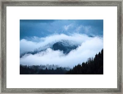Fog After Storm Framed Print by Katie Wing Vigil
