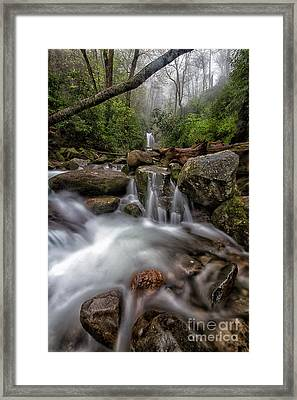Fog And Water Framed Print by Todd Bielby