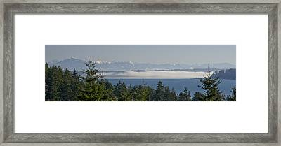 Fog Bank Framed Print