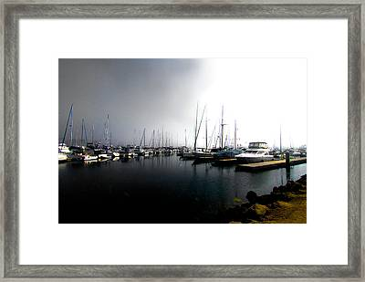 Framed Print featuring the photograph Fog Bank by Joseph Hollingsworth