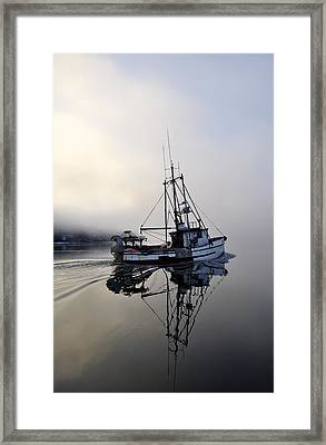Fog Bound Framed Print by Cathy Mahnke