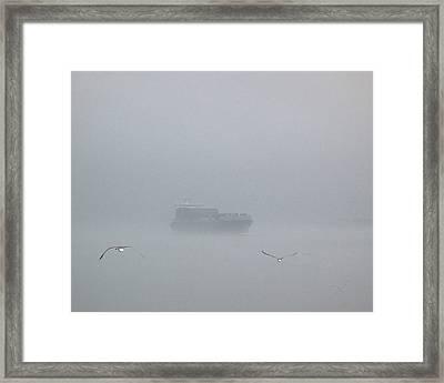 Fog Bound Framed Print