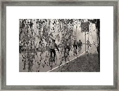 Fog Chasers - 2 Framed Print by Sarai Rachel