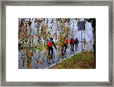 Fog Chasers Framed Print by Sarai Rachel