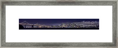 Fog City San Francisco2 Framed Print by Mike Reid