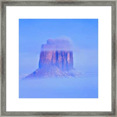 Fog Cover  Framed Print
