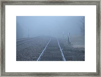 Fog Framed Print by DEM Photos