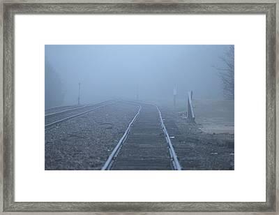 Fog Framed Print by DEM Photos