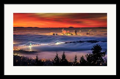 Inversion Framed Prints