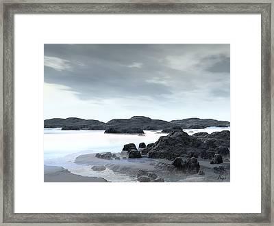 Fog Framed Print by John Pangia