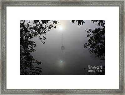 Fog On The Water Framed Print by Joseph Marquis