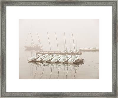 Fogged In Again Framed Print by Bob Orsillo