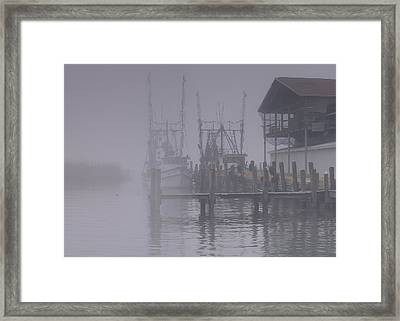 Fogged In Framed Print by Bill Chambers