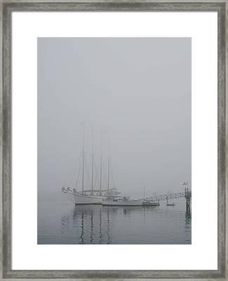 Fogged In Framed Print