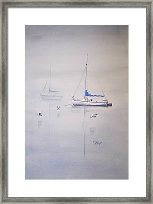 Fogging Mornin' Framed Print