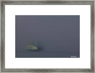 Foggy Ferry Ride Framed Print by Charlie Duncan
