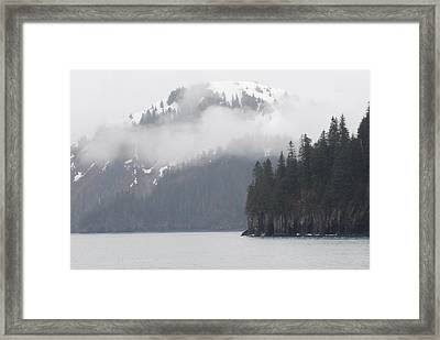 Foggy Journey Framed Print