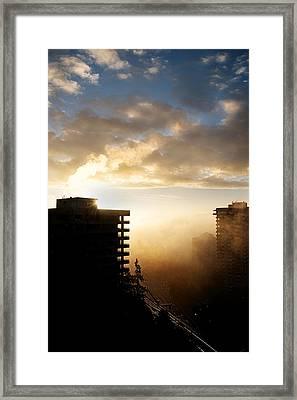 Foggy Morn Framed Print by Lisa Knechtel