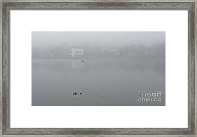 Foggy Morning In Paradise - 01 Framed Print