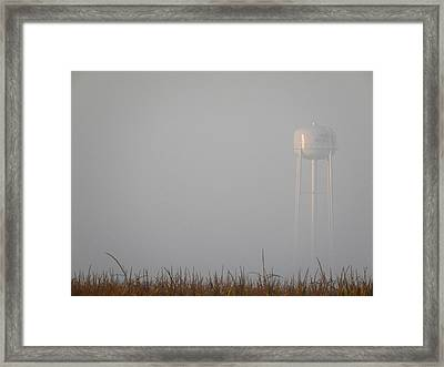 Foggy Morning Framed Print by KayeCee Spain