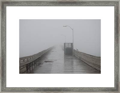 Foggy Morning Framed Print by Pamela Schreckengost