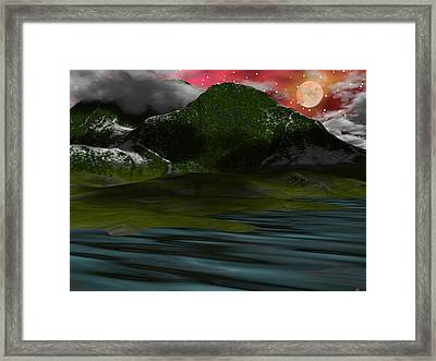 Foggy Mountain Dew Framed Print