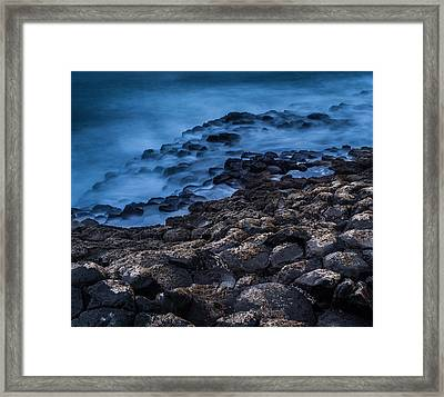 Foggy Seascape Framed Print by Craig Brown