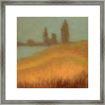 Foggy Skyline From Felixs Framed Print