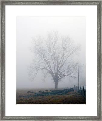 Foggy Sunday II Framed Print by Leon Hollins III