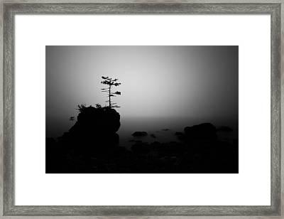 Foggy Sunrise Framed Print by Jakub Sisak
