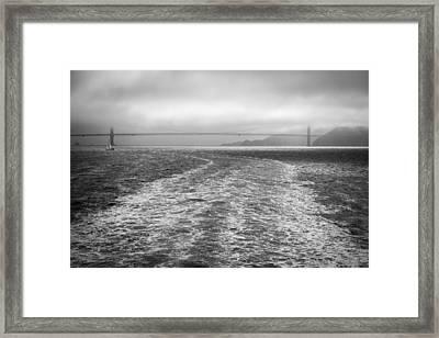 Foggy Top Framed Print