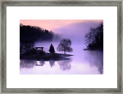Foggy Twilight Framed Print by Thomas Pettengill