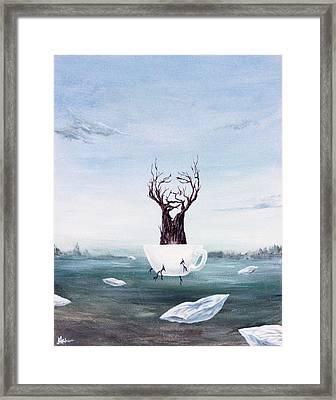 Foglifter Framed Print