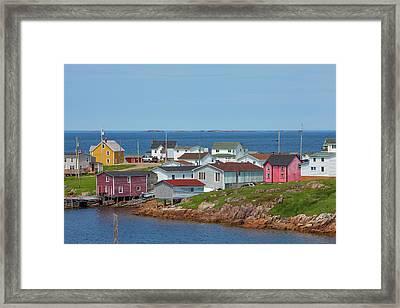 Fogo Island, Newfoundland, Canada Framed Print
