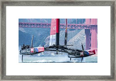 Foiling 5 Framed Print by Chris Cameron