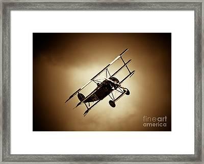 Fokker Dr-1 Framed Print